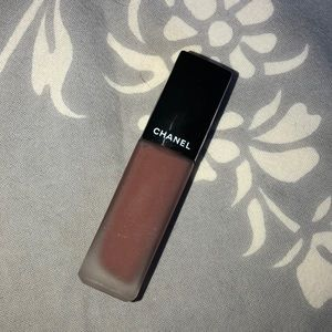 CHANEL rouge allure ink in rosy brown
